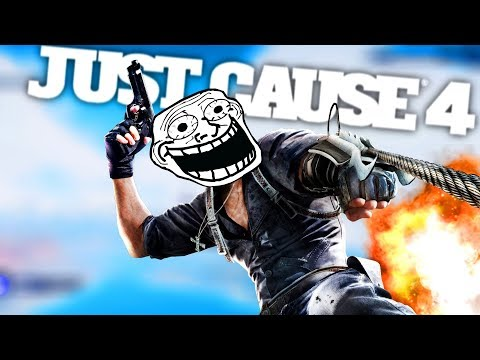 JUST CAUSE 4 FUNNY MOMENT, FAILS & STUNTS