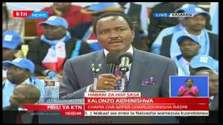 Wiper Delegates Conference - 13th December 2016 - Hon Kalonzo Musyoka's full speech