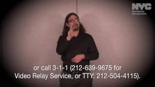 Notify NYC American Sign Language Message: AMBER Alert Cancellation