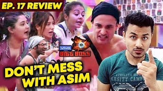 Asim Riaz SHUTS Mouth Of Housemates   Trends On Social Media   Bigg Boss 13 Ep. 17 Review