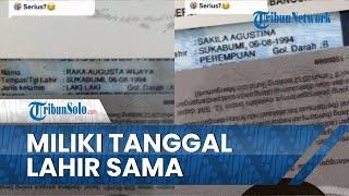 Lahir di Kota dan Waktu yang Nyaris Bersamaan, Suami Istri Asal Sukabumi Viral di Media Sosial