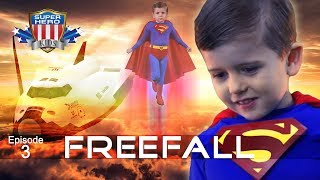 "Superman Saves the Shuttle! SuperHeroKids Episode 3 - ""Freefall"""