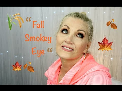 """Fall Smokey Eye"" Tutorial For Mature Eyes - BentlyK"