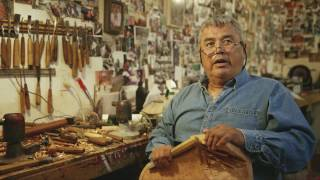 First Nations Artist Reg Davidson, Haida Gwaii, BC