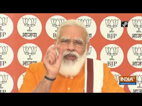 भाजपा नेतृत्व वाली राजग सरकार में शुरू की किसानों & # 39 के लिए सुधारों; कल्याण: PM मोदी