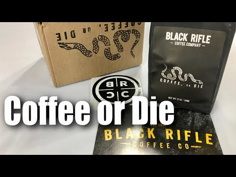 Coffee or Die dark roast blend coffee from the Black Rifle Coffee Company review