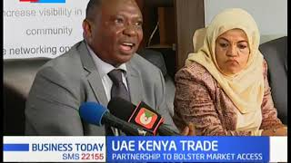 KNCCI partners with UAE trade center, partnership aimed to bolster investment