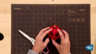 Create This Easy DIY Felt Bird For The Holidays!