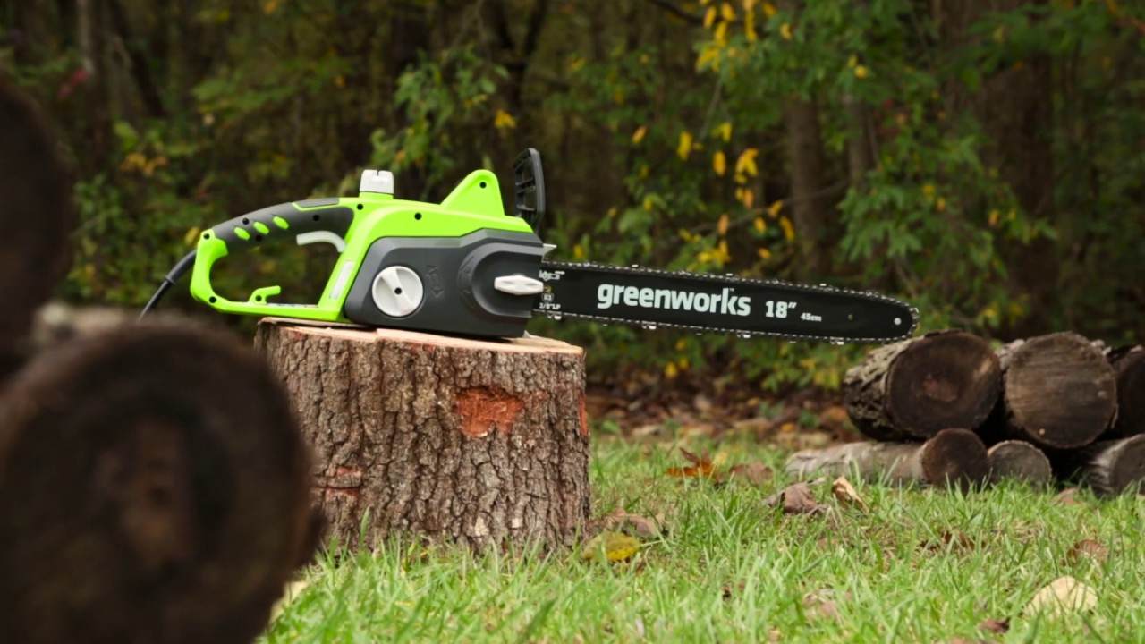 Greenworks 14.5A 18-inch Chainsaw
