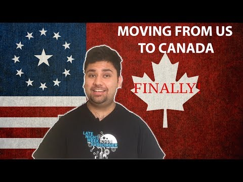 Moving from US to Canada | I Have to do it!!