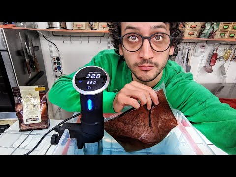 """I Tried """"Sous-Vide"""" to Temper Chocolate… (best move ever)"""