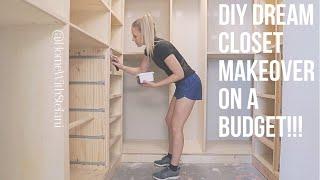 DIY Dream Closet Makeover On A Budget!!! [Part 1] | HomeWithStefani