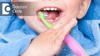 What is the recommended fluoride levels in toothpaste for toddlers? - Dr. Premila Naidu