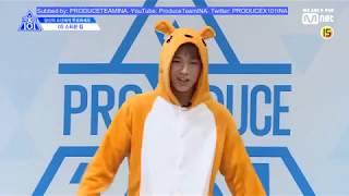 [SUB INDO] STEVEN KIM  (DS Entertainment) - PRODUCE X 101 Individual PR - INA subs