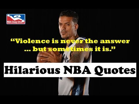 Funny NBA Quotes!
