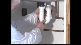 DIY Plumbing - Cleaning a Sink Trap