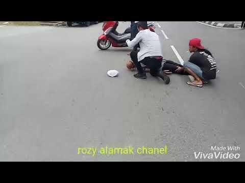 Eksiden/kecelakaan di taman melati Kuala lumpur