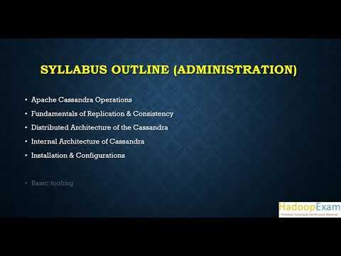 Cassandra 3x Administration Certification - YouTube