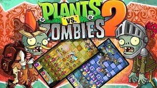 Растения против Зомби 2 Plants VS Zombies Игра как мультик для детей