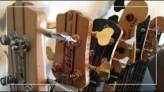 PJ Phillips Bass Guitar Collection