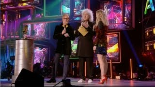 Brian May announces Adele Live Performance of Year BBC Music Awards 101215