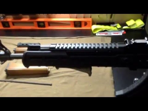 Zastava with a Zhukov! | PAP M77 with the new Magpul Zhukov