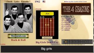 The Four Seasons - Big Girls Don't Cry #0333