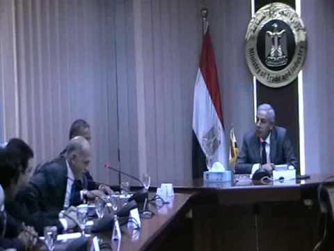 اجتماع الوزير / طارق قابيل مع رؤساء شركات انتاج الكابلات فى مصر