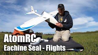 AtomRC x Eachine Seal - Flight review