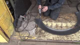 Изготовление автомобильной арки на коленке)))
