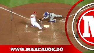 Marcador: 5 mejores jugadas del dia de ayer en la MLB