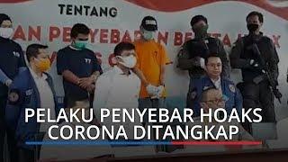 Empat Pelaku Penyebar Hoaks Terkait Covid-19 Dibekuk Polisi