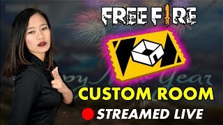 Free Fire Custom Rooms - Winner Gets Prize - Join Now!! #25