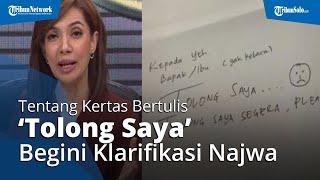 Begini Klarifikasi Najwa Shihab soal Isi Kertas Surat Minta Tolong yang Bikin Heboh Media Sosial