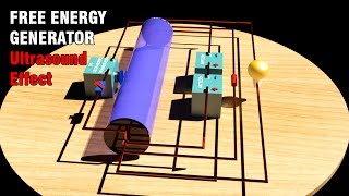 Free Energy Generator, Ultrasound and water, Must See!!!