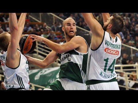 Highlights: RS Round 5, Panathinaikos Athens 91-56 Zalgiris Kaunas