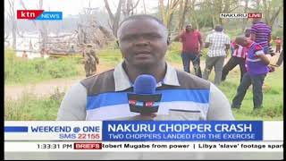 Update on Nakuru chopper crash after wreckage recovered from Lake Nakuru