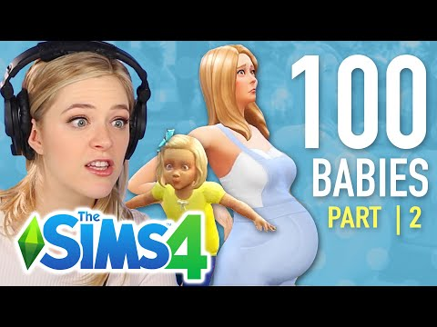 Single Girl Raises Her First Child In The Sims 4   Part 2