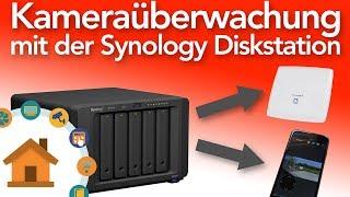 Synology surveillance station - So richtest Du sie ein!   verdrahtet.info [4K]