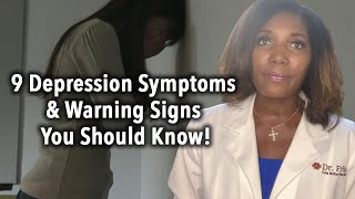 9 Depression Symptoms and Warning Signs You Should Know!