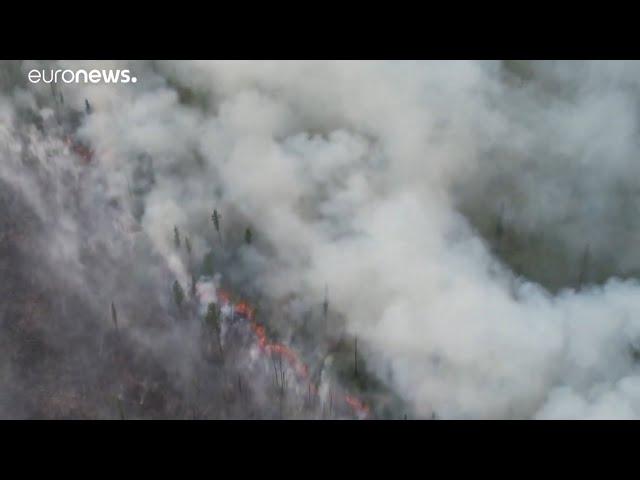 Ангарск затянуло дымом