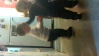 Jayden & Donovan walking