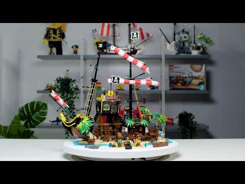 Vidéo LEGO Ideas 21322 : Les pirates de la baie de Barracuda