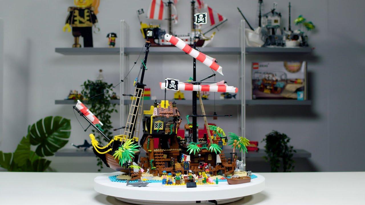 Pirates of Barracuda Bay | LEGO Ideas Designer Video 21322