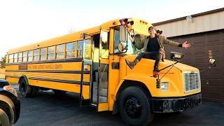 WE GOT THE BUS!!