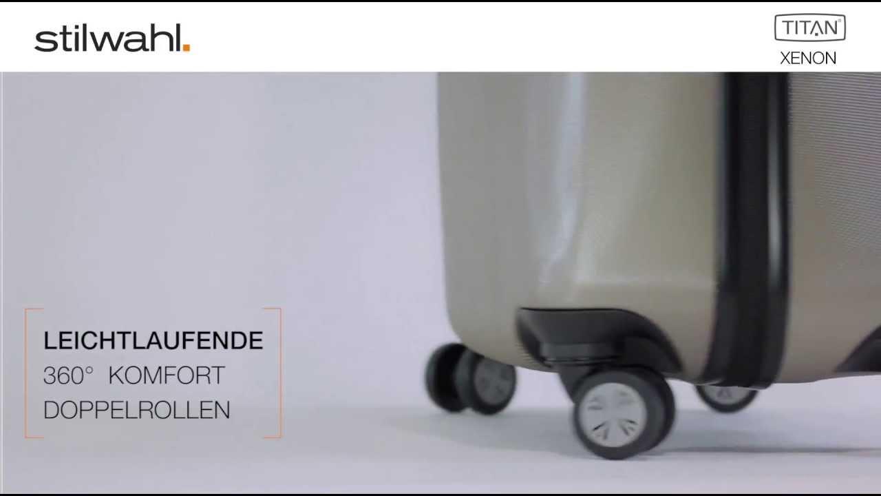 Xenon 4 Rollen Trolley mittel 809405