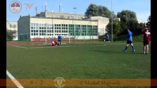 preview picture of video 'I Kolejka Ligi B: Deniko Athletico Kurdwanów - La Furia Azul'
