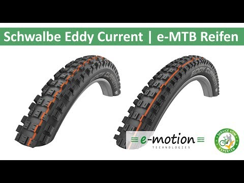 Schwalbe Eddy Current - die Reifen fürs e-MTB  Eurobike 2018