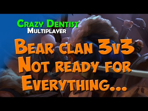 Northgard Bear clan in 3v3 | Not ready for Everything...