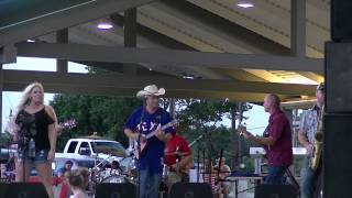 Chris River's Band and Chaz Marie - Standing On Shaky Ground